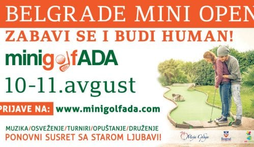 Turnir u mini-golfu na Adi Ciganliji 10. i 11. avgusta 1