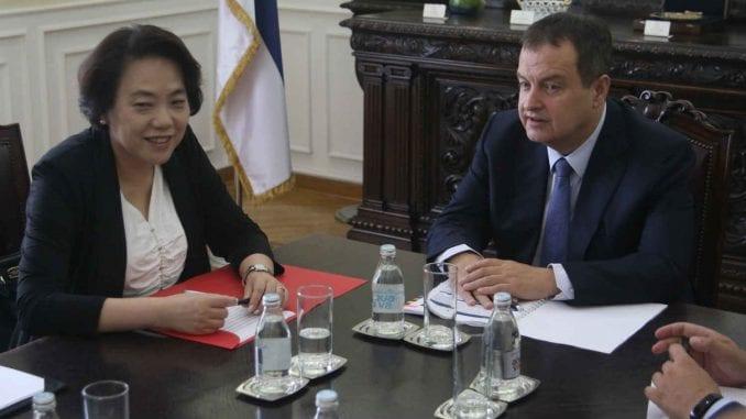Dačić i kineska ambasadorka Čen Bo: Nastavak podrške Kine Srbiji u međunarodnim odnosima 1