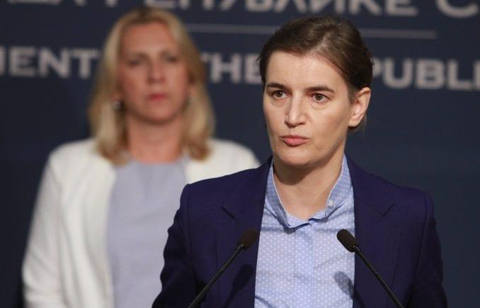 Brnabić: Ministri koji nisu u stanju da sprovode dogovorenu politiku, slobodni da napuste Vladu 4