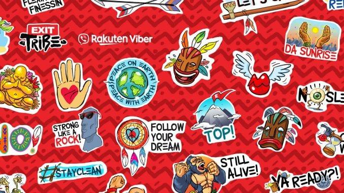 EXIT Tribe predstavio novi paket Viber stikera 4