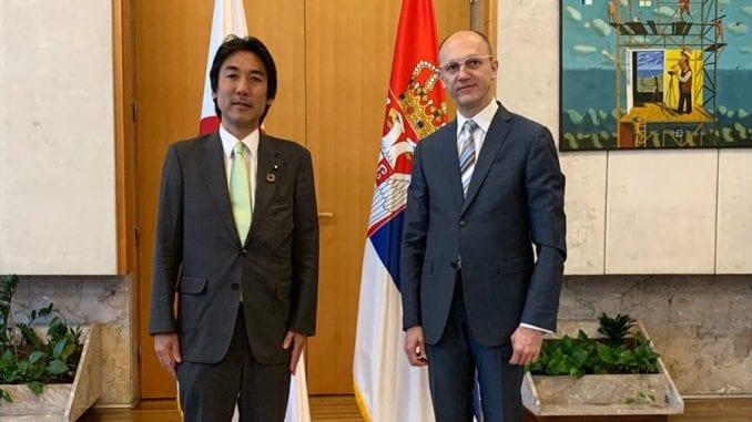 Trivan sa japanskim ministrom za zaštitu životne sredine o saradnji dve zemlje u oblasti ekologije 1