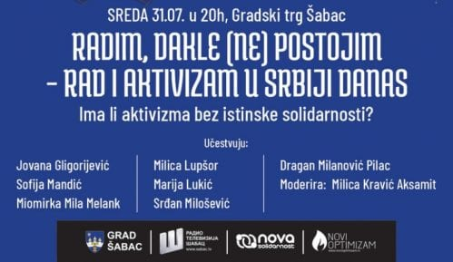 Nastavlja se Zona novog optimizma u Šapcu tribinom o radu i aktivizmu 5