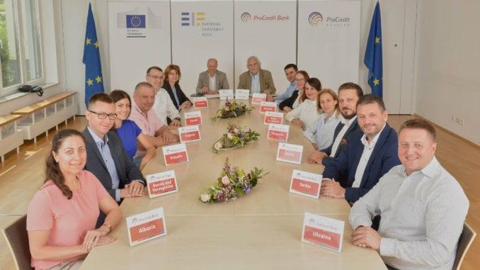 Evropski investicioni fond i ProCredit grupa obezbedili dodatnih 800 miliona evra za mala i srednja preduzeća 2