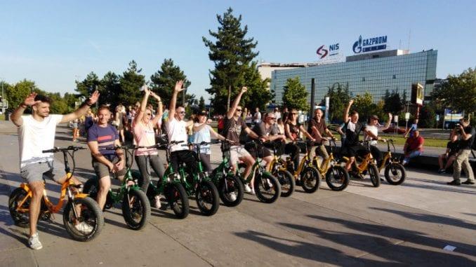 Održana edukativno-humanitarna trka električnim biciklima 2
