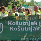 Zelena stranka: Pojedinci pokušavaju da zloupotrebe proteste na Košutnjaku 10