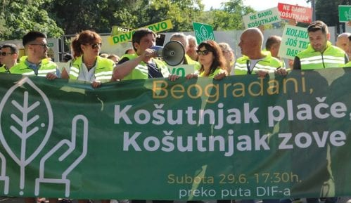 Grupa građana za Košutnjak sutra na sastanku sa predstavncima ministarstva 11