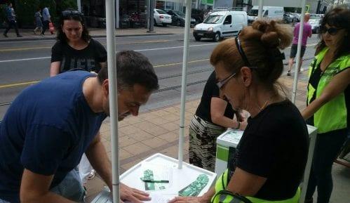Zelena stranka: Nastavlja se prikupljanje potpisa za Košutnjak 8