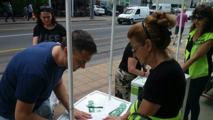 Zelena stranka: Nastavlja se prikupljanje potpisa za Košutnjak 1