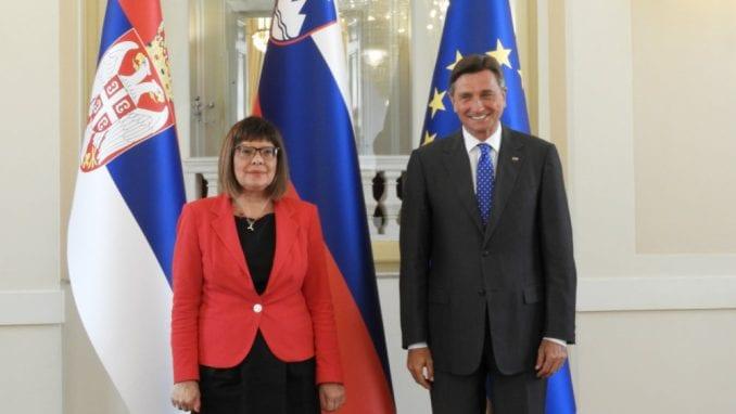 Gojković i Pahor razgovarali o regionalnoj saradnji 3