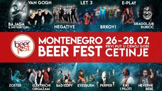 Montenegro Beer Fest - više od 23 sata besplatnog muzičkog programa 1