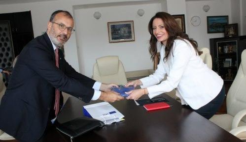 Kuburović sa Fabricijem o budućoj saradnji ministarstva pravde i delegacije EU 6
