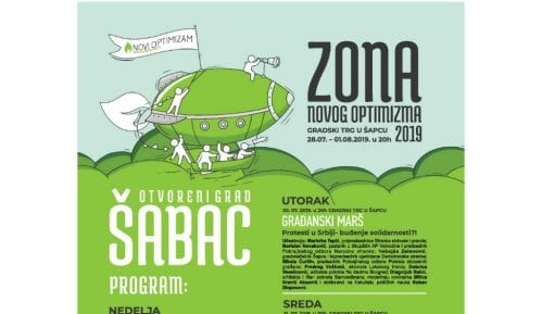 Zona Novog Optimizma i ovog leta u Šapcu od 28. jula do 1. avgusta 12