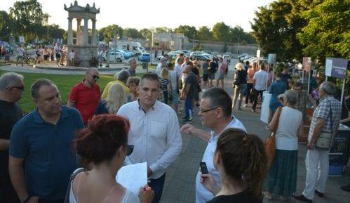 Šesta slobodna zona u Nišu: Ako se bude rušio Trg opozicionari će to sprečiti svojim telima 6