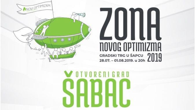 Zona novog optimizma u Šapcu od 28. jula do 1. avgusta 1