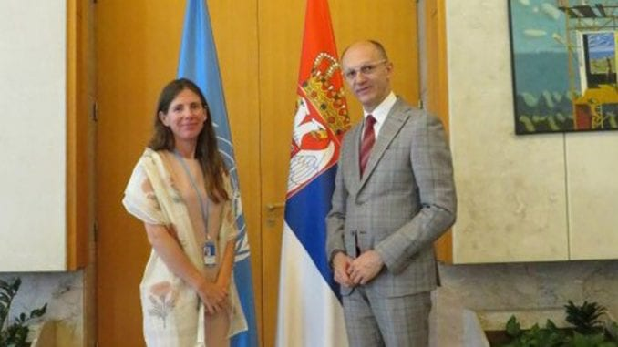 Trivan sa predstavnicom UNDP o zaštiti životne sredine 3