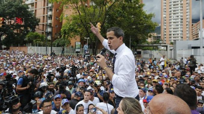 Grčka priznala Huana Gvaida kao vršioca dužnosti predsednika Venecuele 1