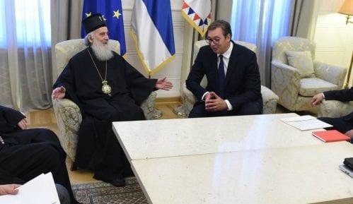 Vučić i Irinej: Jedinstvo od ključnog značaja za opstanak naroda na KiM 3