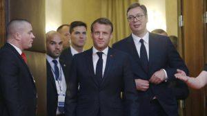 Makron u Srbiji: Francuska nikada neće zaboraviti žrtvovanje srpskog naroda 15