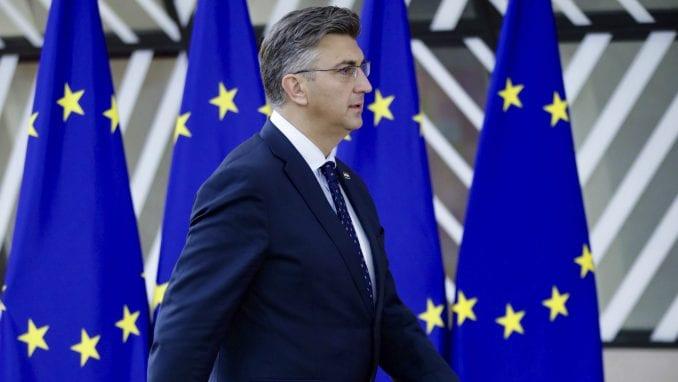Plenković: Hrvatska želi što pre u Šengen i zonu evra 4
