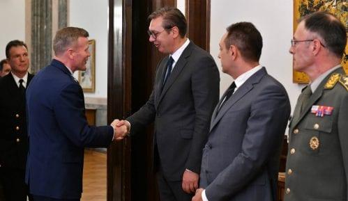 Kabinet generala Voltersa: Sa Vučićem nije bilo priče o hitnoj vezi sa Kforom 10