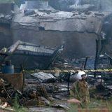 Pakistanski vojni avion srušio se među kuće, poginulo 17 ljudi 4