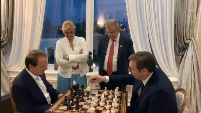 Vučić posetio Karić grad u Belorusiji (VIDEO) 4