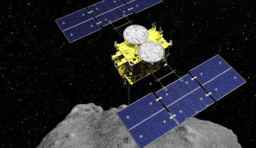 Japanska sonda sletela na asteroid 7