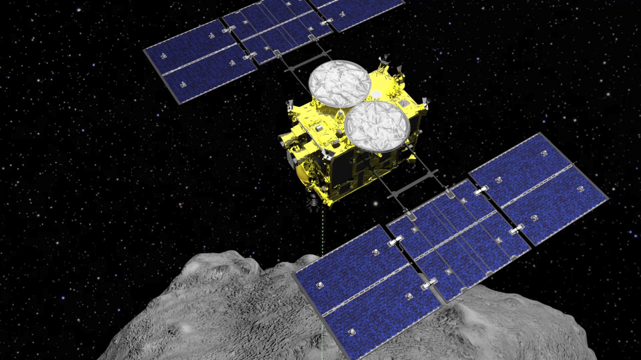 Japanska sonda sletela na asteroid 2