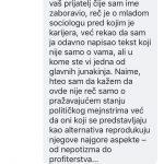 Otvoreno pismo javnosti povodom ponašanja Zorana Ćirjakovića, predavača na FMK 5