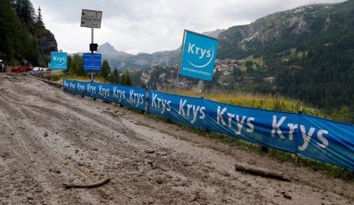 Pretposlednja etapa Tura skraćena zbog mogućih klizišta 2