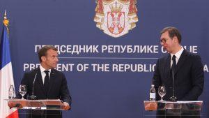Makron u Srbiji: Francuska nikada neće zaboraviti žrtvovanje srpskog naroda 13