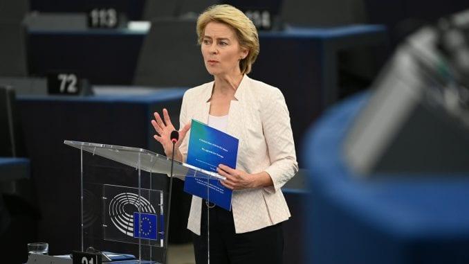 Novoizabrana predsednica EK: Svetu je potrebna jaka Evropa 1