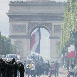 U Parizu incidenti posle vojne parade 14