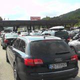 Gužve na naplatnim rampama na putevima u Srbiji 11