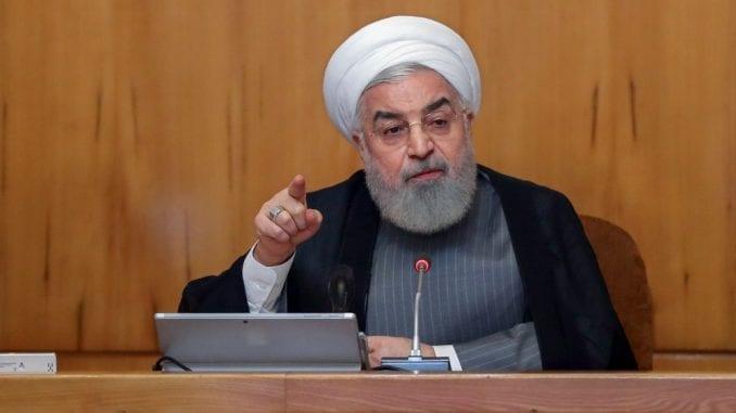 Rohani: Britanija će snositi posledice zbog zaplene iranskog tankera 1