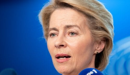 Ursula fon der Lajen u kampanji u Evropskom parlamentu 4