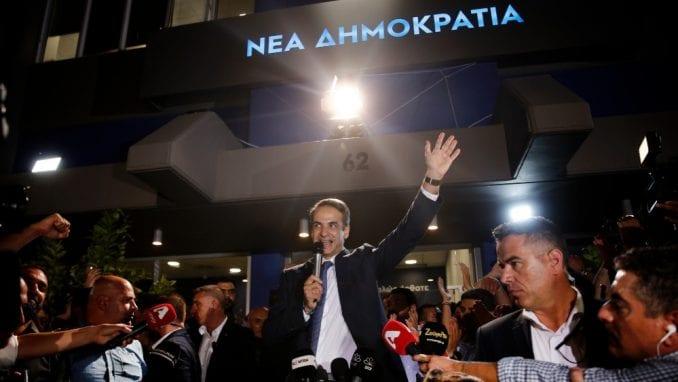 Pobeda Nove demokratije na izborima u Grčkoj 1