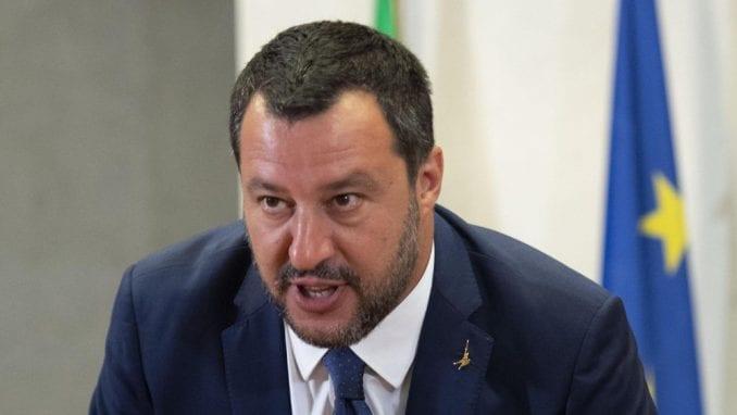 Italijanski Senat odlučuje o Salvinijevom imunitetu 2