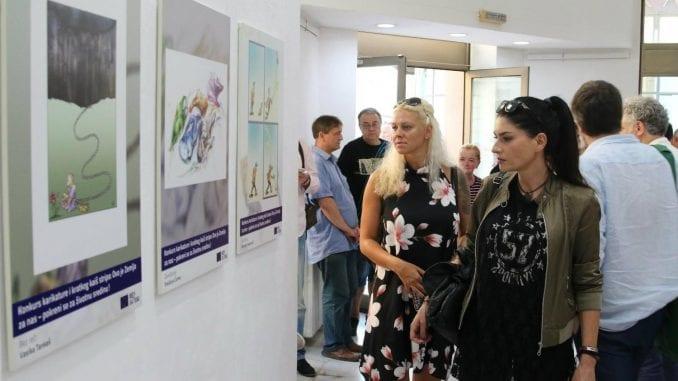 Otvorena izložba karikatura u Galeriji ULUS 3