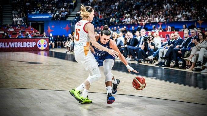 Košarkašice Srbije bez finala, poraz od Španije 1