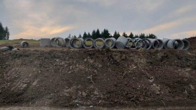 Turski tok: Probijena trasa gasovoda 1