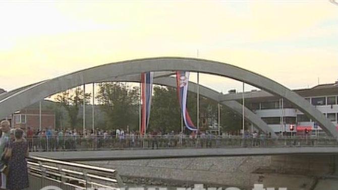 """Republika Srpska: U Čelincu otvoren most """"Srbija"""" 1"""