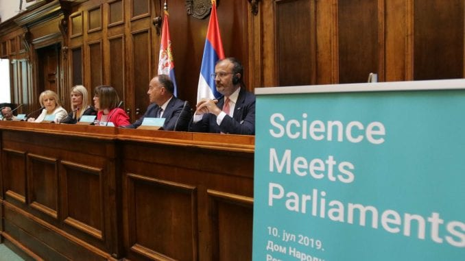 Dan nauke obeležen konferencijom o klimatskim promenama u Skupštini 1