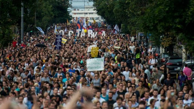 Inicijativa Ne davimo Beograd obeležava pet godina postojanja 1