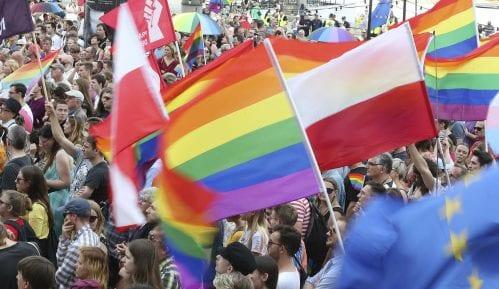 Marš poljske opozicije protiv homofobičnog nasilja 1