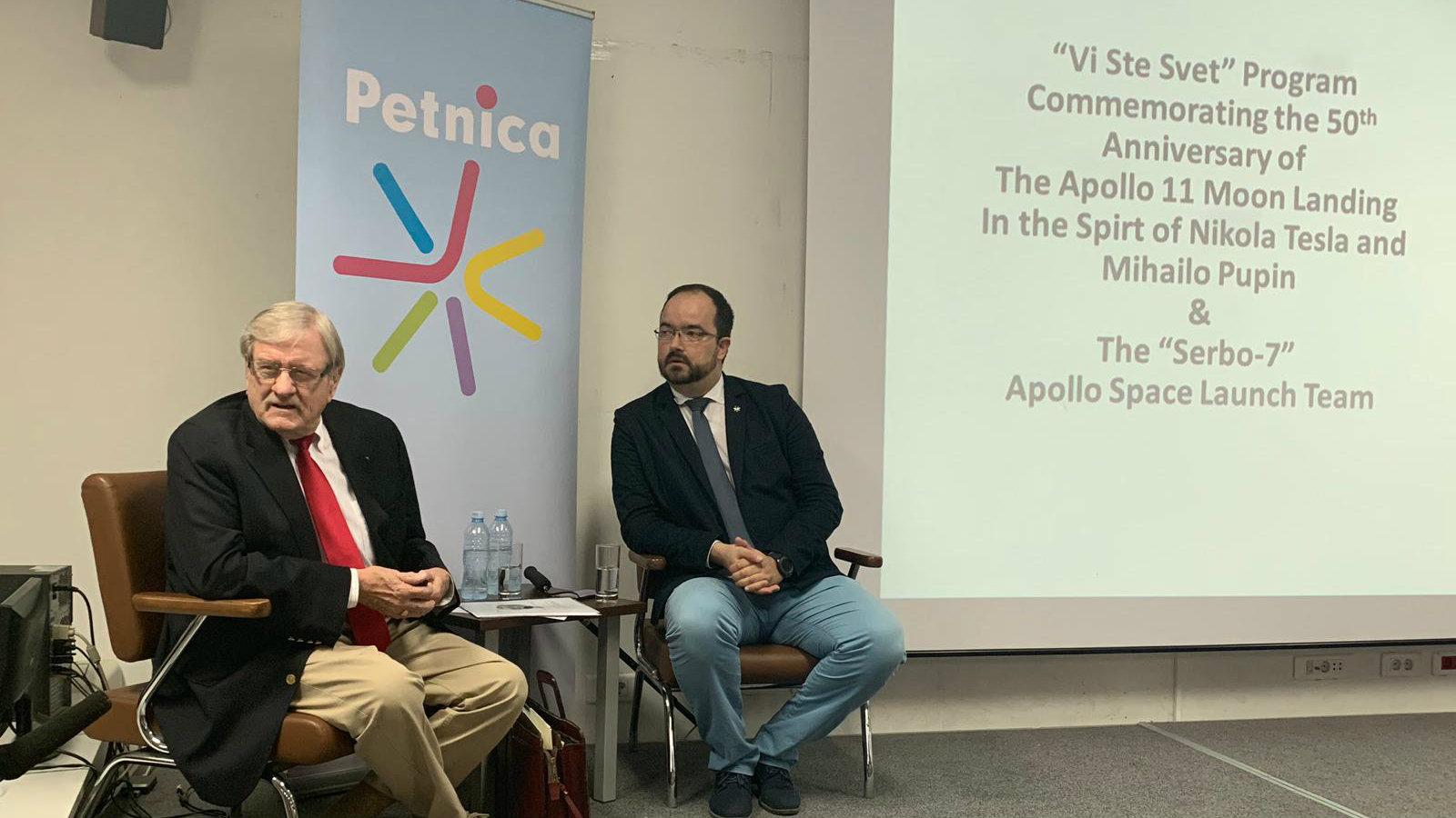 Dejvid Vujić održao predavanje mladim naučnicima u Petnici 1