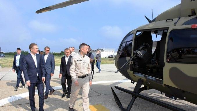 Stefanović: Novi helikopteri povećaće sposobnost srpske policije 2