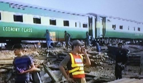U sudaru vozova u Pakistanu 10 mrtvih 12