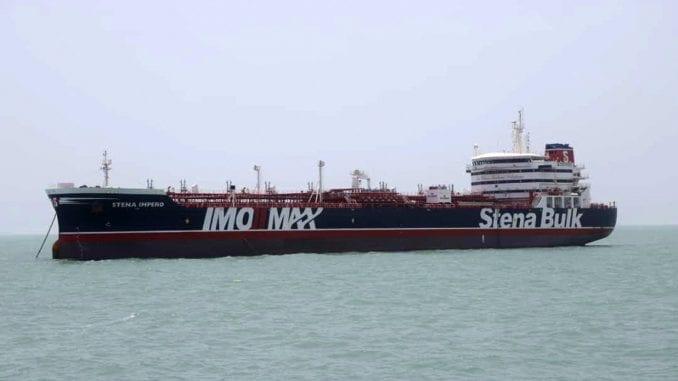 Iran: Zaplena britanskog broda je recipročan potez 1