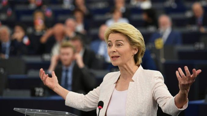 Ursula fon der Lajen izabrana na čelo Evropske komisije 1